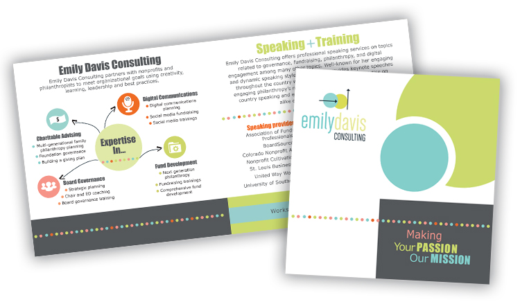 Emily Davis Consulting Brochure