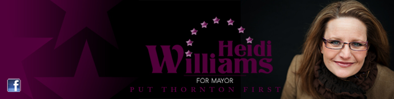 Heidi Williams for Mayor