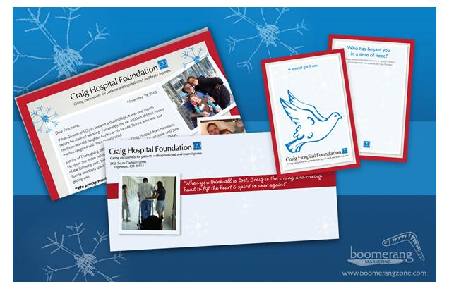 Craig Hospital Foundation – Holiday Campaign