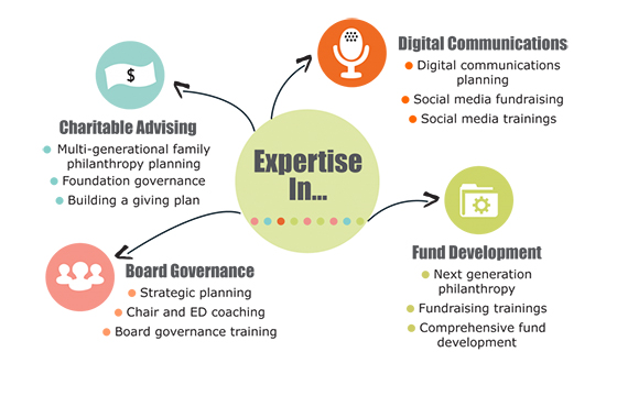 Emily Davis Consulting – Expertise Graphic