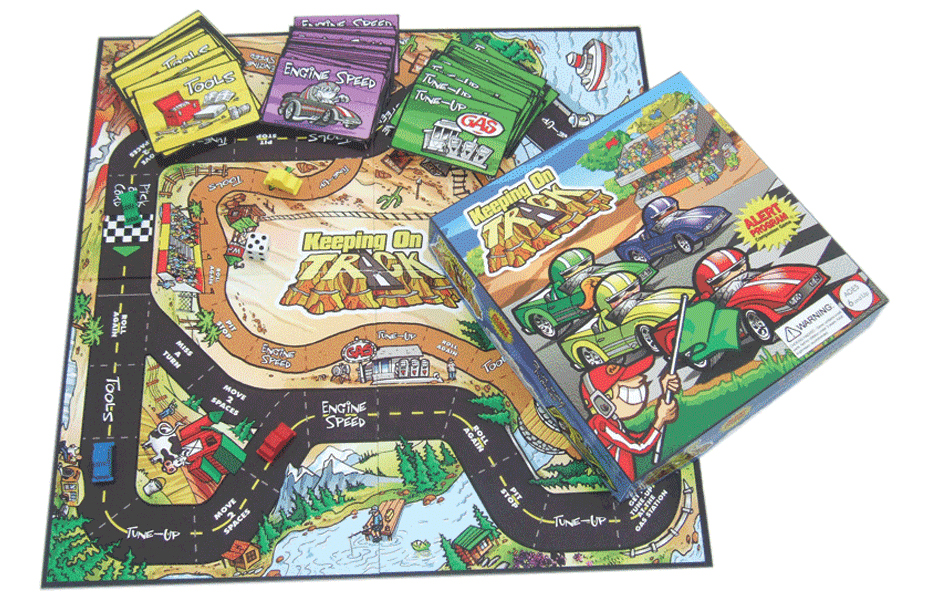 Keeping on Track Board Game