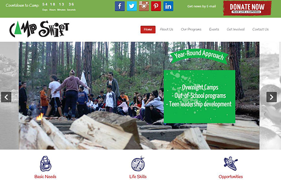 Camp Swift Website