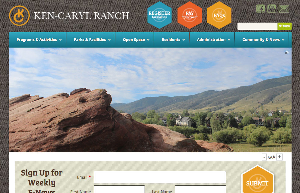 Ken-Caryl Ranch Website