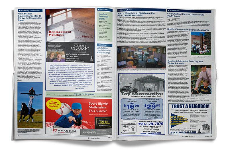 Life at Ken-Caryl Ranch Newspaper